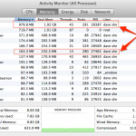 Activity monitor showing Thunderbird using more memory than Outlook