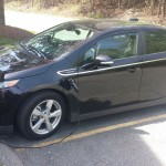 chevy volt on charger