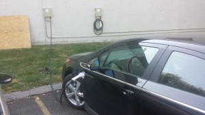 volt plugged in