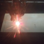 80w CO2 Laser in use