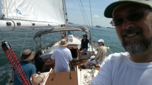 Sailing on Boston Harbor