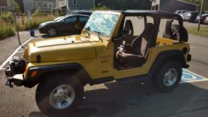 My yeller Jeep