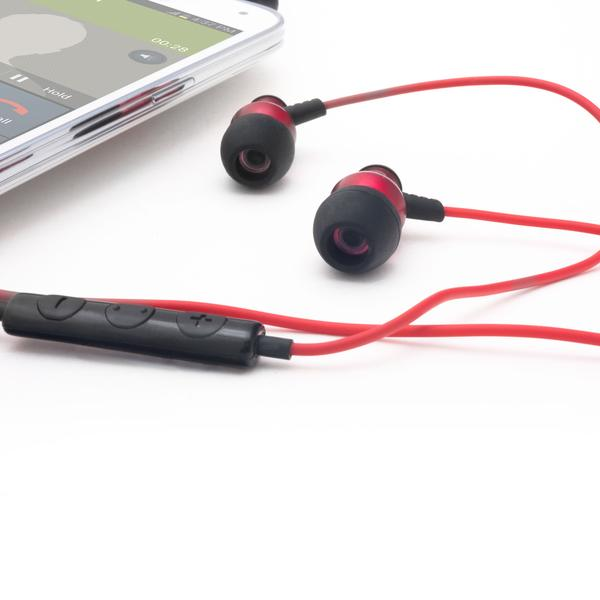 Brainwavz Delta Red IEM Noise Cancelling Headphones