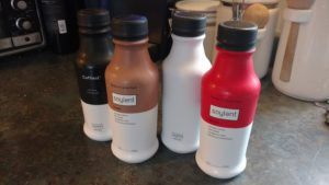"Soylent ""ready to drink"" food bottles, in all 4 flavors"